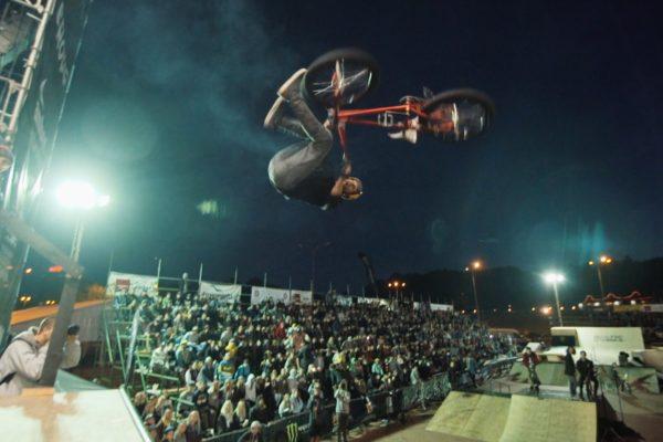 BMX rider Michael Beran X Cropp X Baltic Games 2014